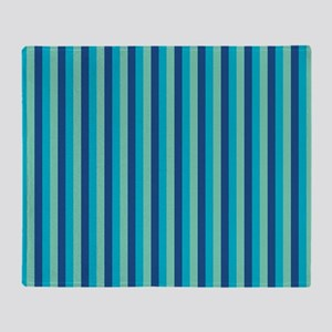 Stripes2015D5 Throw Blanket