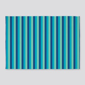 Stripes2015D5 5'x7'Area Rug