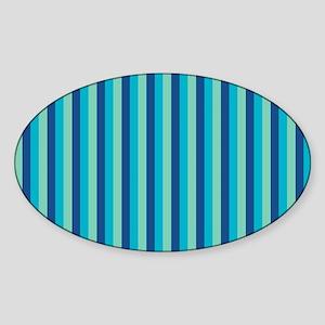 Stripes2015D5 Sticker (Oval)