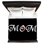 I Heart Mom King Duvet