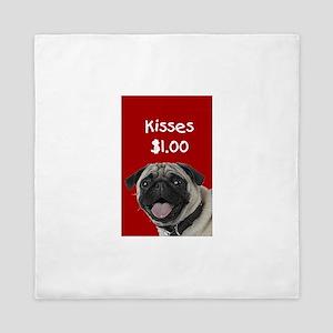 Kisses Queen Duvet