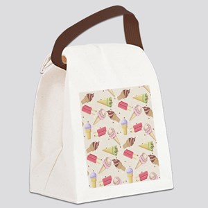 Ice Cream Choices Canvas Lunch Bag