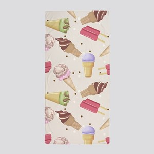 Ice Cream Choices Beach Towel