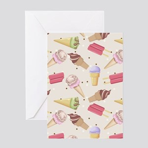 Ice Cream Choices Greeting Card