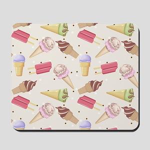 Ice Cream Choices Mousepad