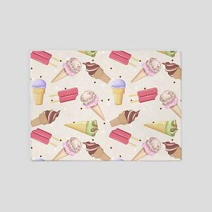 Ice Cream Choices 5'x7'Area Rug