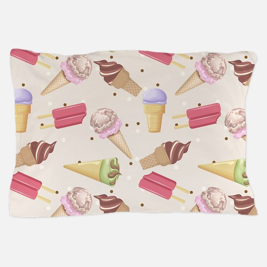 Ice Cream Choices Pillow Case