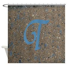 Monogram T Series Shower Curtain