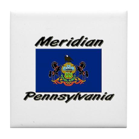 Meridian Pennsylvania Tile Coaster