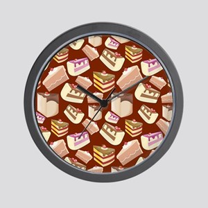 Pieces of Cake Wall Clock