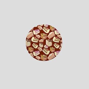 Pieces of Cake Mini Button