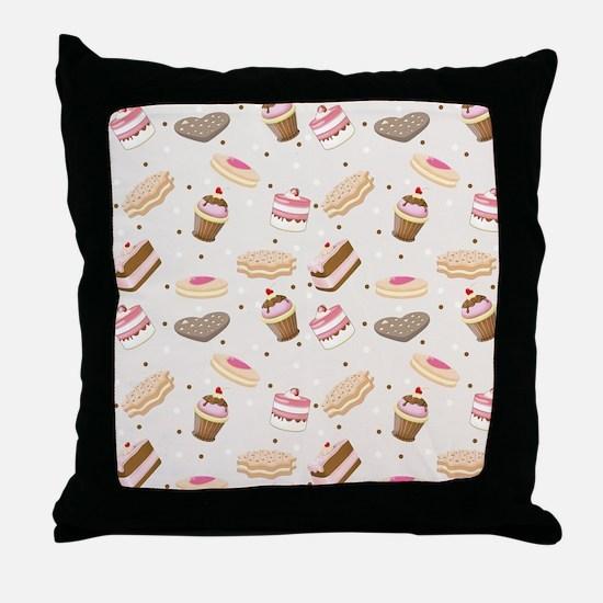 Sweet Tumble Throw Pillow
