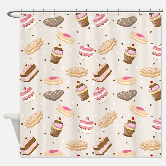 Sweet Tumble Shower Curtain