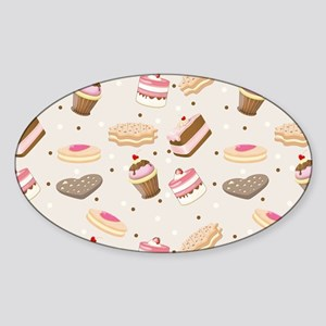 Sweet Tumble Sticker (Oval)