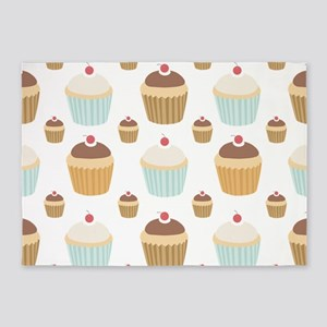 Cupcake Crowd 5'x7'Area Rug