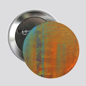 """Abstract in Aqua, Copper and Gold 2.25"""" Button"""