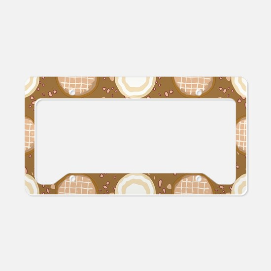 Cookie Crumble License Plate Holder