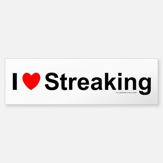 Streaking Sticker (Bumper)