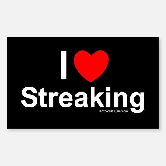 Streaking Sticker (Rectangle)
