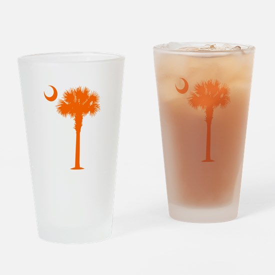 SC Flag (op) Drinking Glass