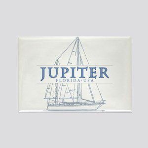 Jupiter Florida - Rectangle Magnet