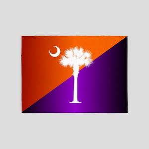 SC Flag (op) 5'x7'Area Rug