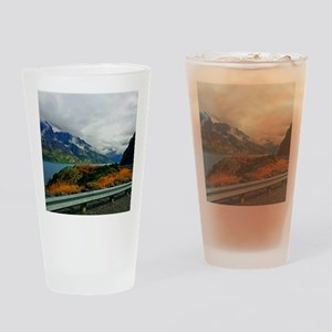 Lake Wakatipu and the Bayonet Peaks Drinking Glass