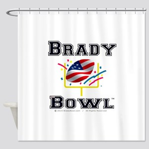 Official Brady Bowl Shower Curtain