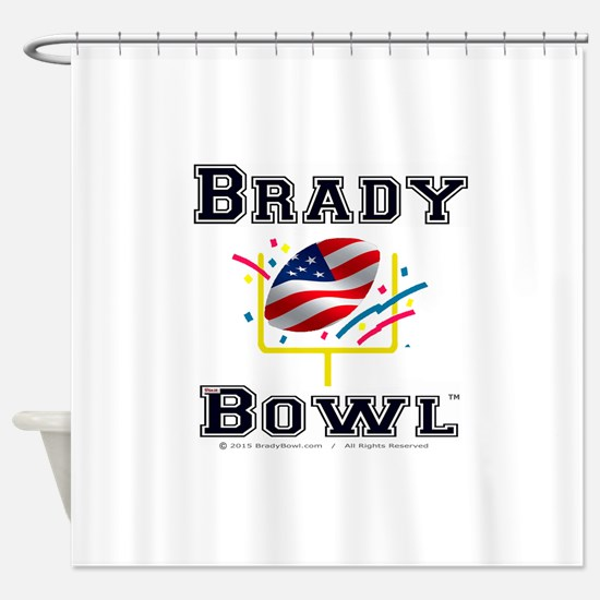 Official Brady Bowl Shower Curtain