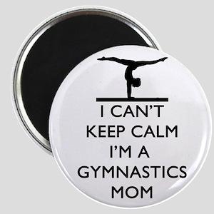 Keep Calm Gymnastics Magnets