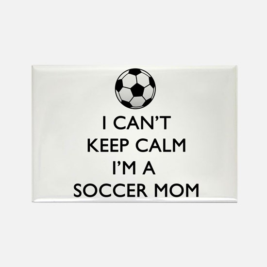 Keep Calm Soccer Mom Magnets