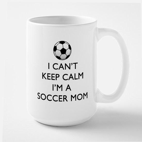 Keep Calm Soccer Mom Mugs