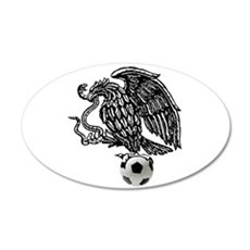 Mexican Football Eagle Wall Decal
