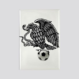 Mexican Football Eagle Rectangle Magnet