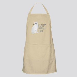 Crazy Burmilla cat Lady Apron