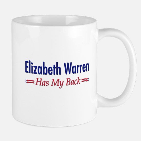 """Warren Has My Back"" Mug"