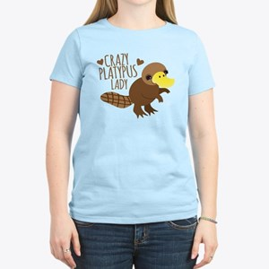 Crazy Platypus Lady T-Shirt