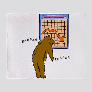 Bear Market Throw Blanket