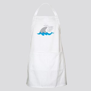 Crazy Shark Lady Apron