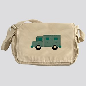 Armoured Truck Messenger Bag