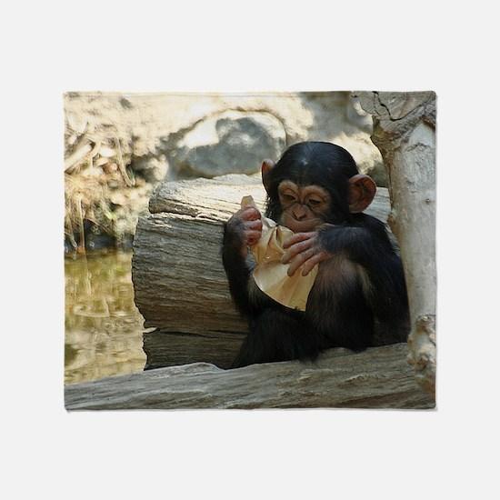 Cool Funny animal photos Throw Blanket