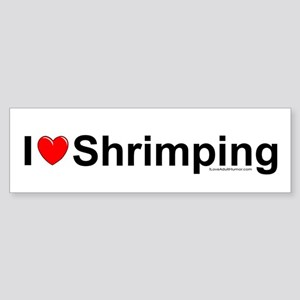 Shrimping Sticker (Bumper)