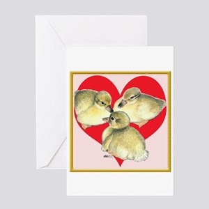 I Love Ducklings! Greeting Card