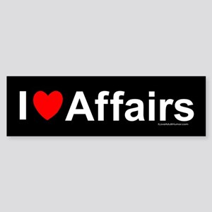 Affairs Sticker (Bumper)