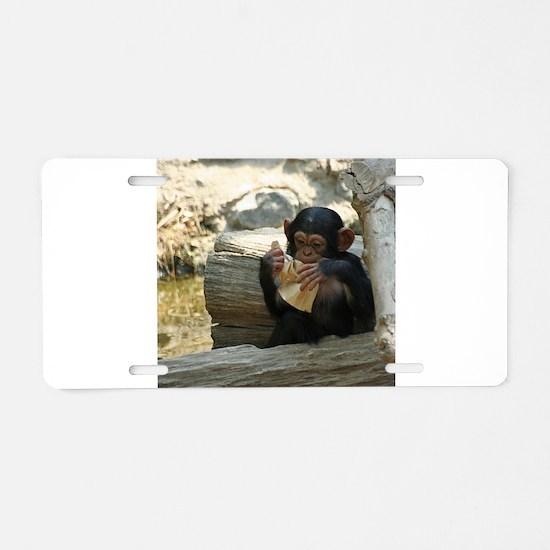 Chimpanzee_2015_0101 Aluminum License Plate