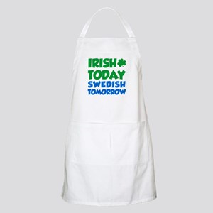 Irish Today Swedish Tomorrow Apron