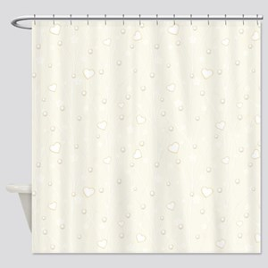 Set with Pearls Shower Curtain