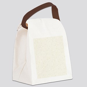 Set with Pearls Canvas Lunch Bag