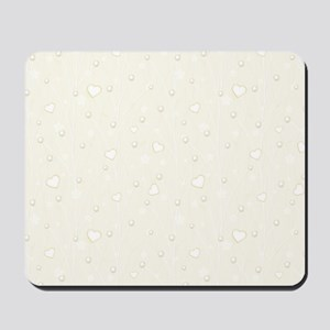 Set with Pearls Mousepad