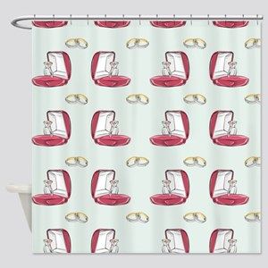 Going to Propose Shower Curtain